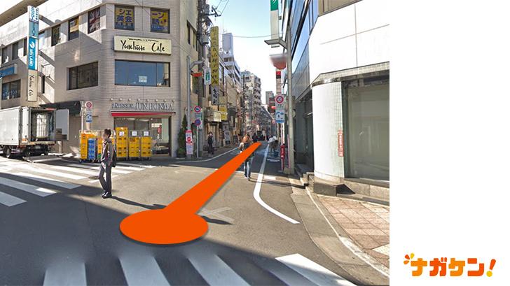 「豆魚雷 高円寺店」までの道のり2