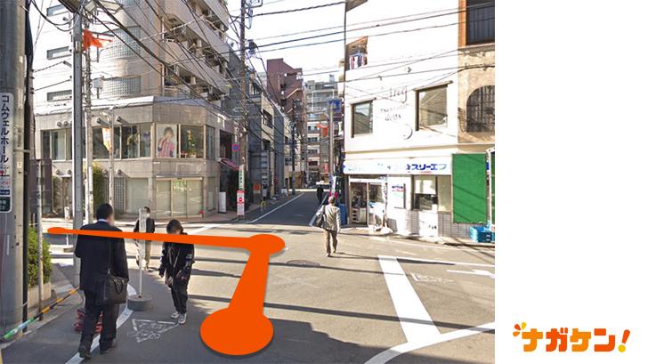 「豆魚雷 高円寺店」までの道のり3