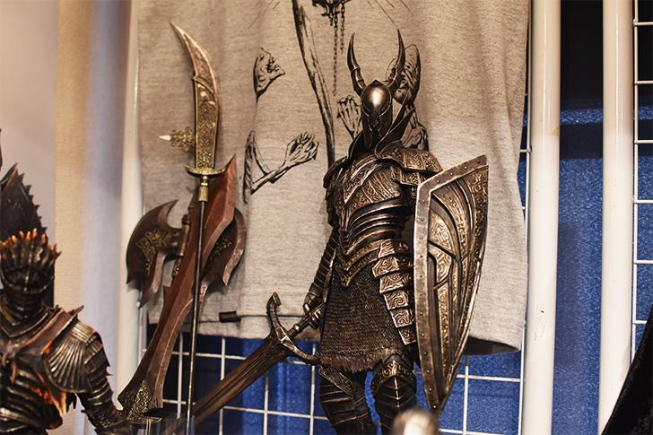 ダークソウルより「黒騎士」のフィギュア