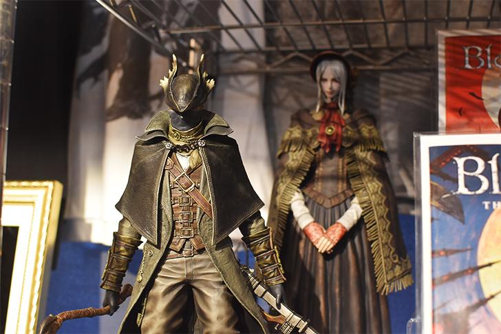 ブラッドボーンより「狩人」と「人形」のフィギュア
