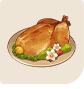 原神「鳥肉のスイートフラワー漬け焼き」
