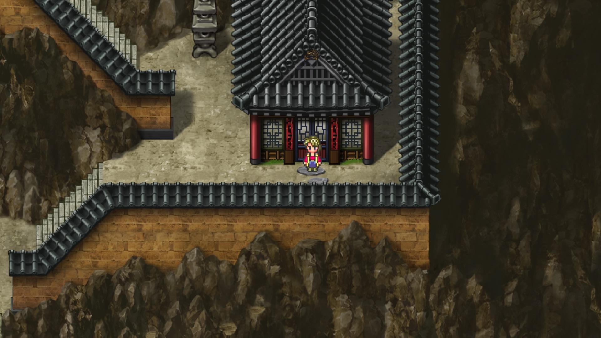 ロマサガ3(ロマンシングサガ3)「バイメイニャン」を仲間にする方法 | 玄城の右上(階段を上った先)の民家に居ます