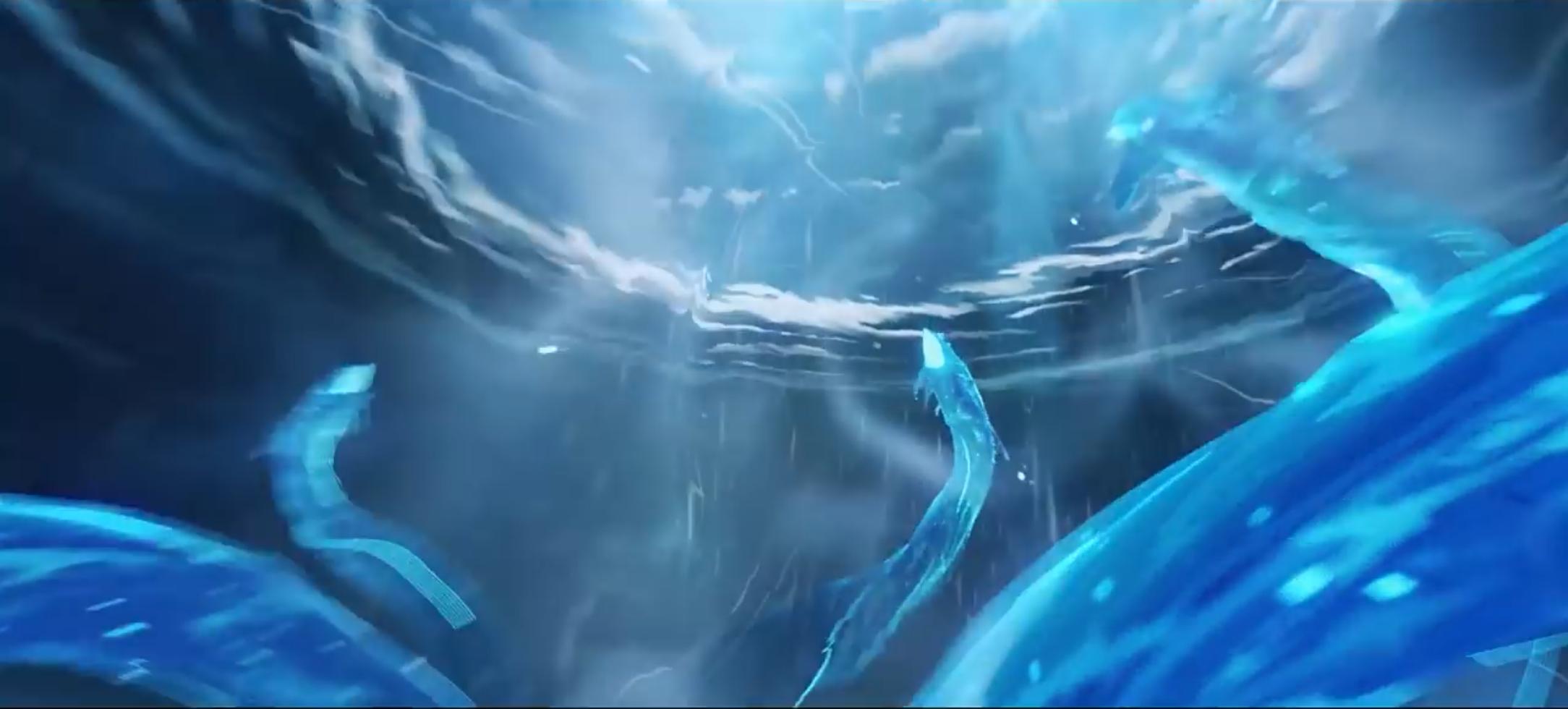 北斗の話で出てくる三つの頭を持つ巨大な海蛇「海山」だよね!?