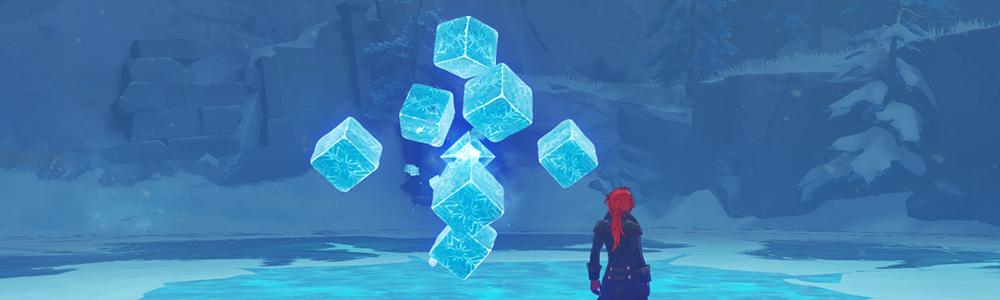 【ドラゴンスパイン フィールドボス】無相の氷を討伐すると、素材「凝結の華」が手に入ります
